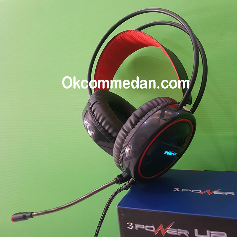 Jual Headset Gaming Power UP Argon 2
