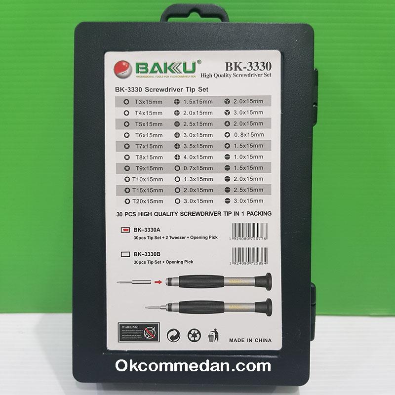Jual Obeng set 30 in 1 Baku Bk-3330