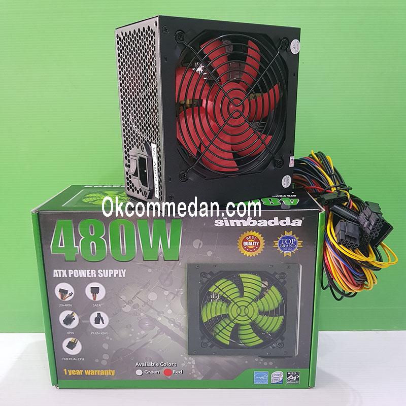 Jual Simbadda Power Supply 480 watt ATX