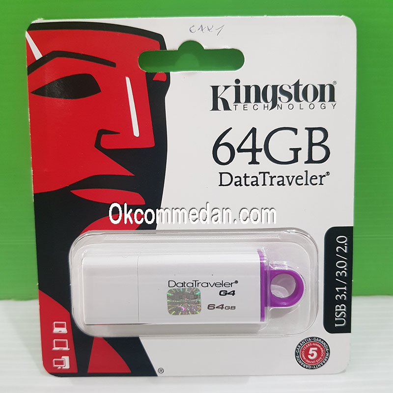 Kingstone Flash Drive DataTraveler G4 64 GB USB 3,0