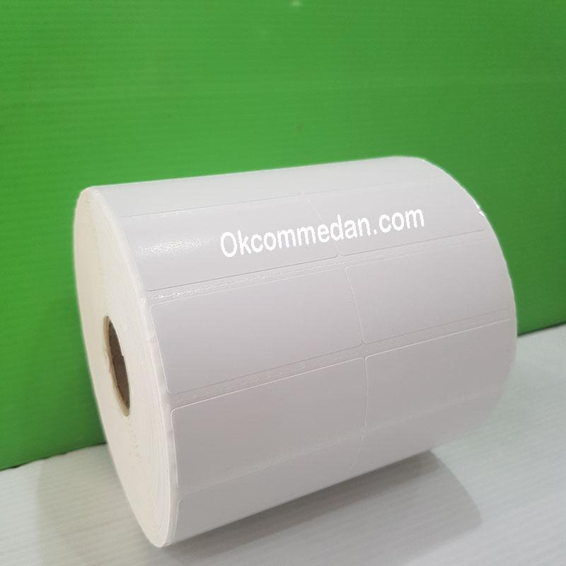 Label Sticker Barcode Ukuran 50 x 20 mm 2 kolom