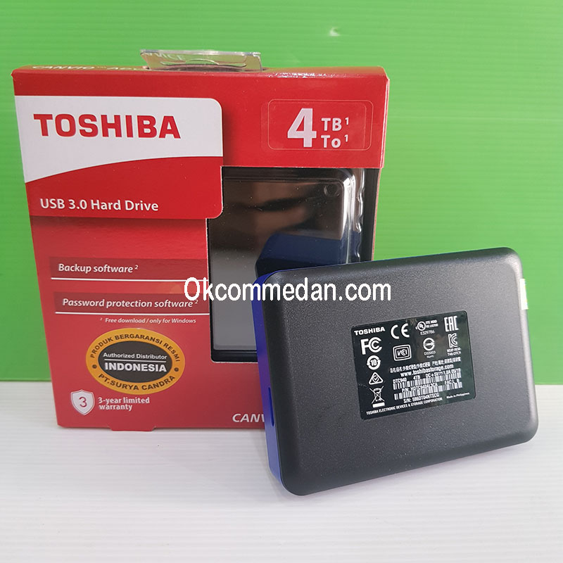 Harga Harddisk External Toshiba Canvio Advance 4 TB