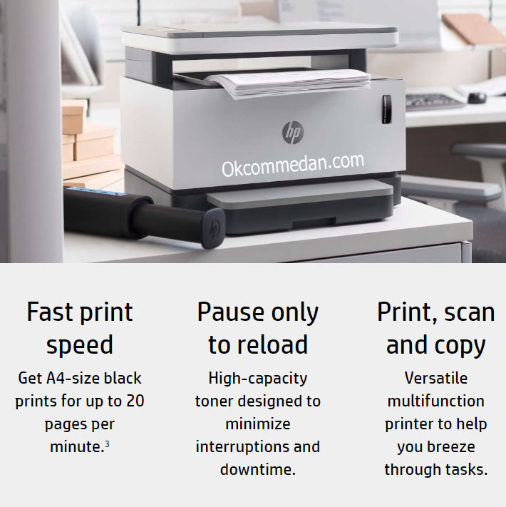 Printer HP Neverstop Laser 1200a ( Print Scan Copy )