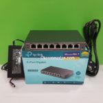 Tplink TL-SG108pe 8 Port Gigabit Switch dengan 4 port PoE