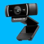 Logitech Webcam C922 dengan resolusi 1080p