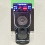 Advance Speaker K10d Dengan 2 mic wireless