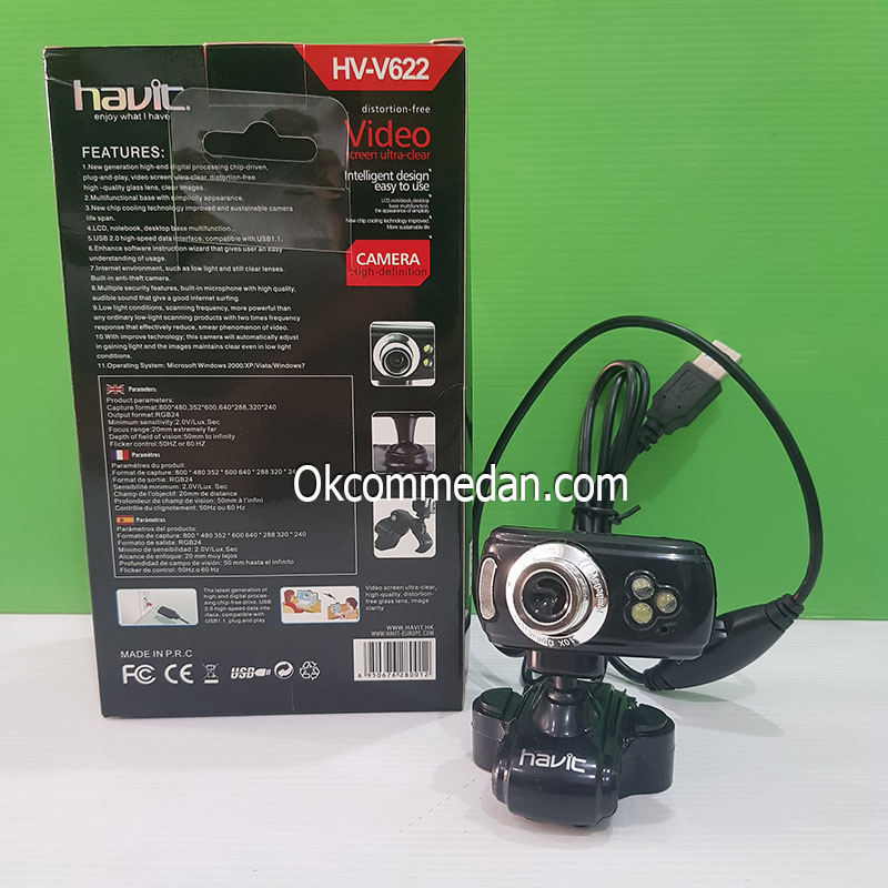 Jual Havit webcam HV-V622