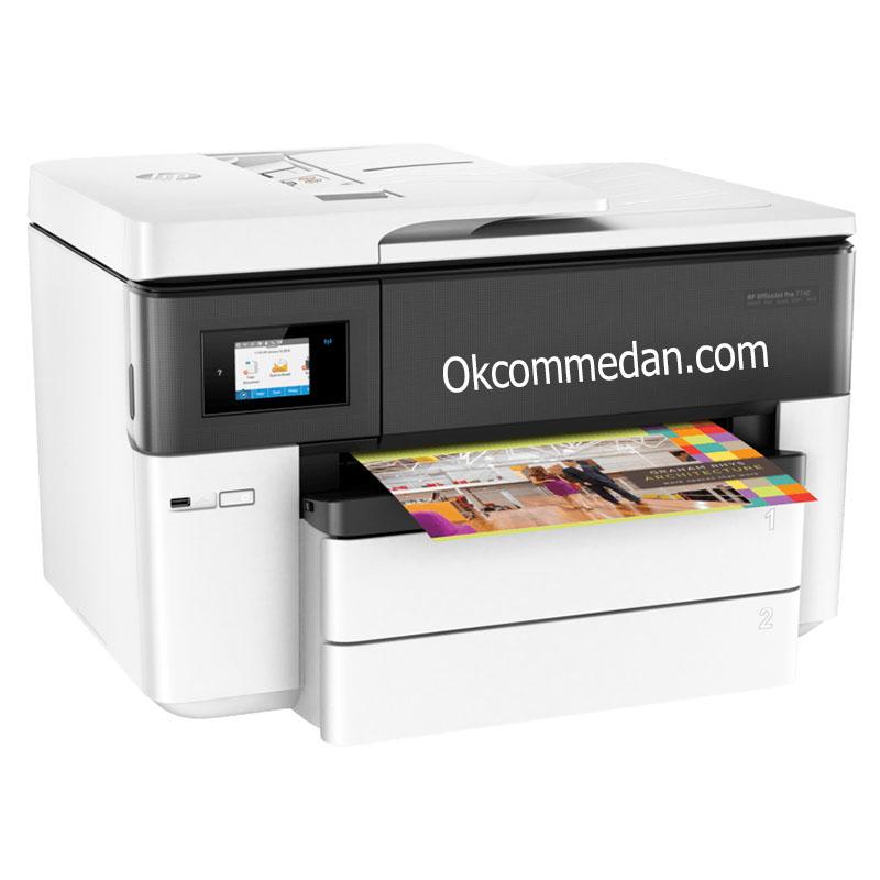 Jual Printer HP A3 Officejet Pro 7740 Print Scan Copy Fax