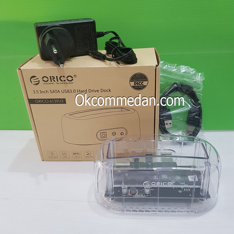 Orico Docking Harddisk 3,5 inchi 6139U3