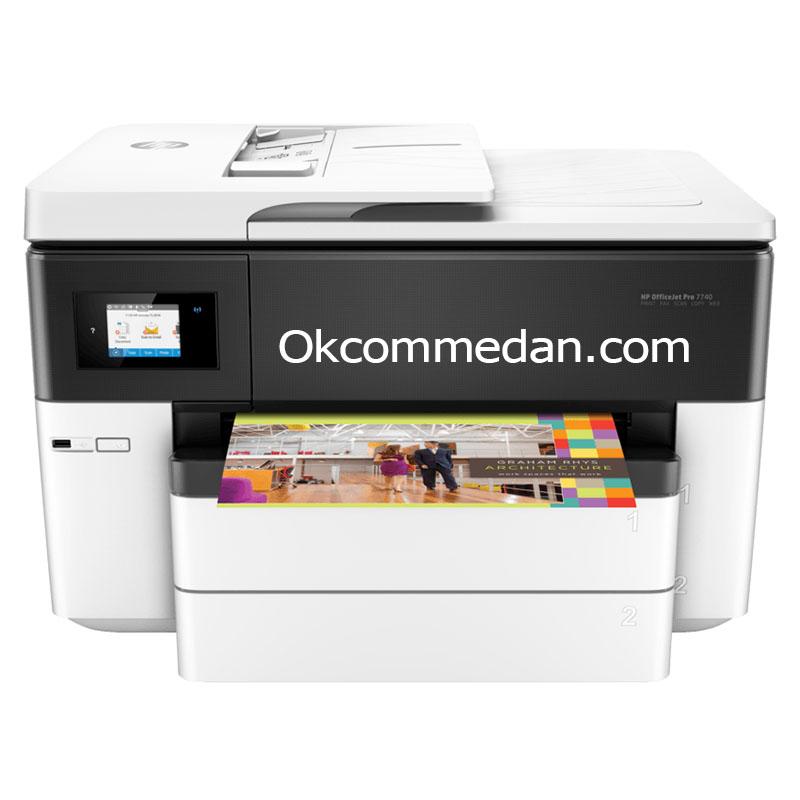 Printer HP A3 Officejet Pro 7740 Print Scan Copy Fax