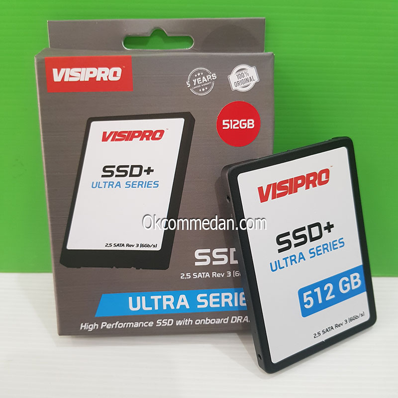 SSD Visipro Ultra series 512 Gb
