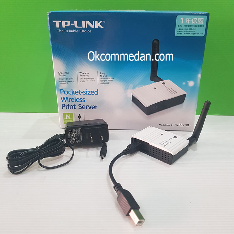 Tplink TL-WPS510u Wireless Printer Server