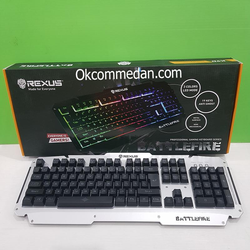 Jual Keyboard Gaming Rexus K9D Battlefire
