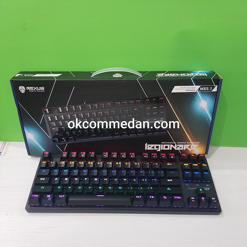 Keyboard Mechanical Gaming Rexus MX5,1