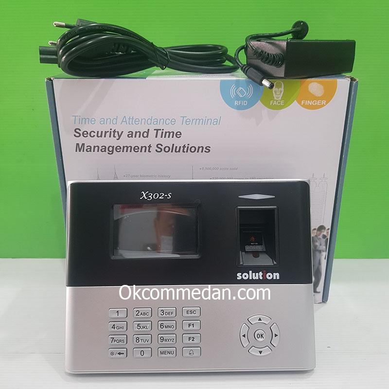 Jual Solution X302-S Mesin Absensi Sidik Jari dan Akses Control Pintu