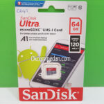 Sandisk Ultra Micro SDXC Kapasitas 64 Gb 120 Mbps