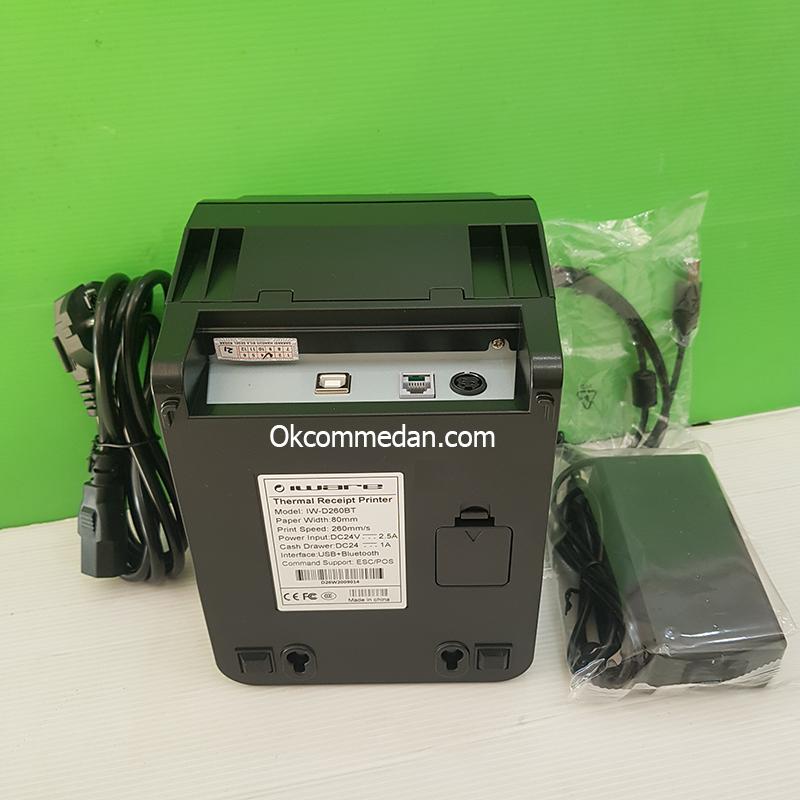 Harga Iware D260Bt Printer Thermal USB dan Bluetooth