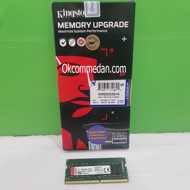 Jual Kingstone Sodimm DDR4 16 Gb 3200 Mhz