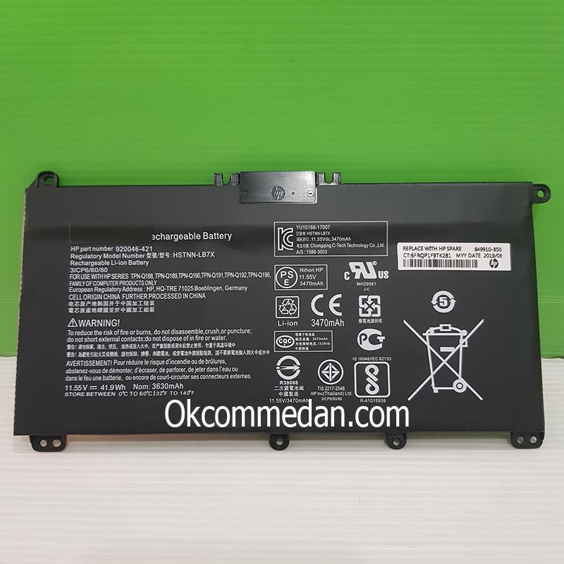 Baterai Laptop HP 14 Bf011tx