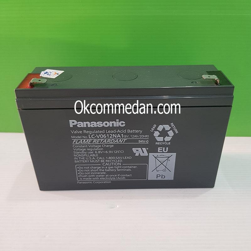Jual Baterai Kering Panasonic 6v 12 Ah ( LC-V0612NA1 )