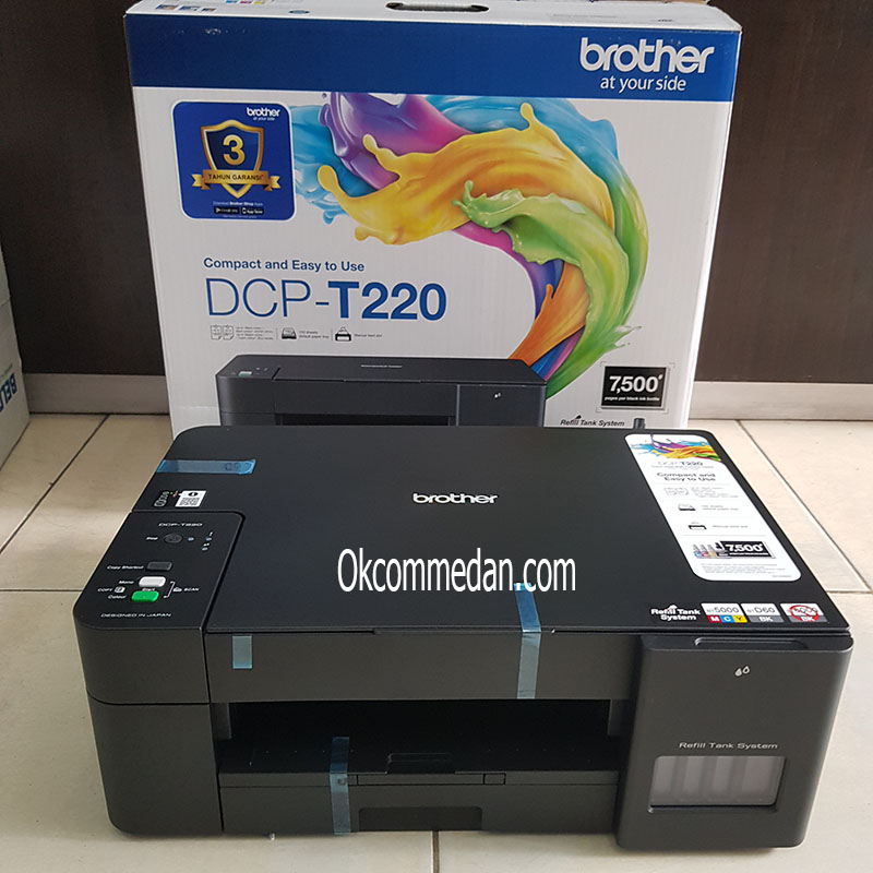 Harga Printer Brother T220 Inktank Print Scan copy