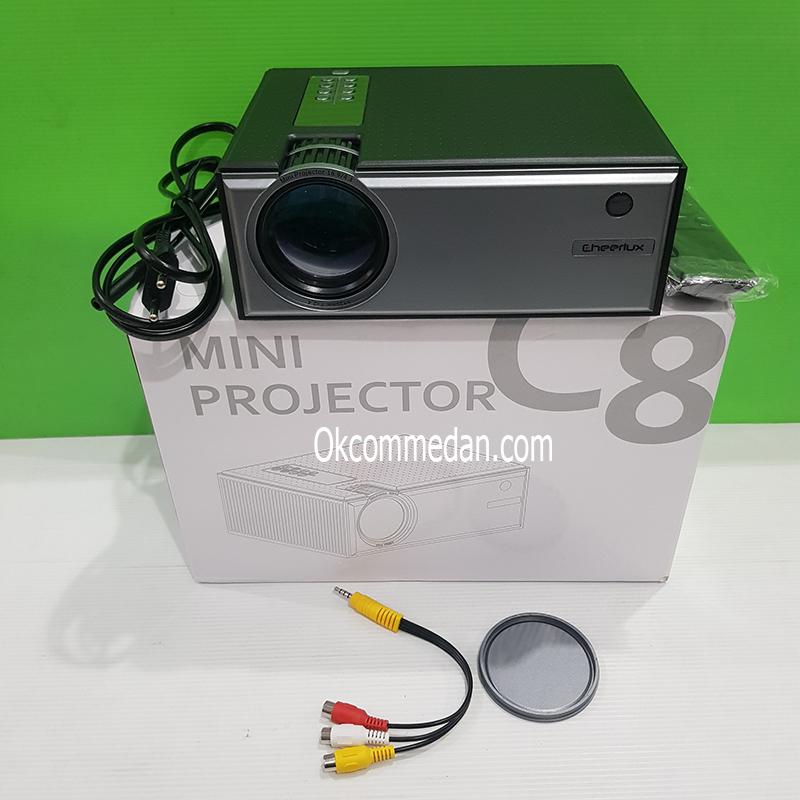 Cheerlux Projector Mini C8 720p