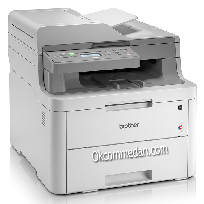 Harga Brother DCP-L3551CDW Color LED Printer Multifungsi