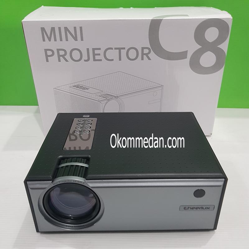 Jual Cheerlux Projector Mini C8 720p