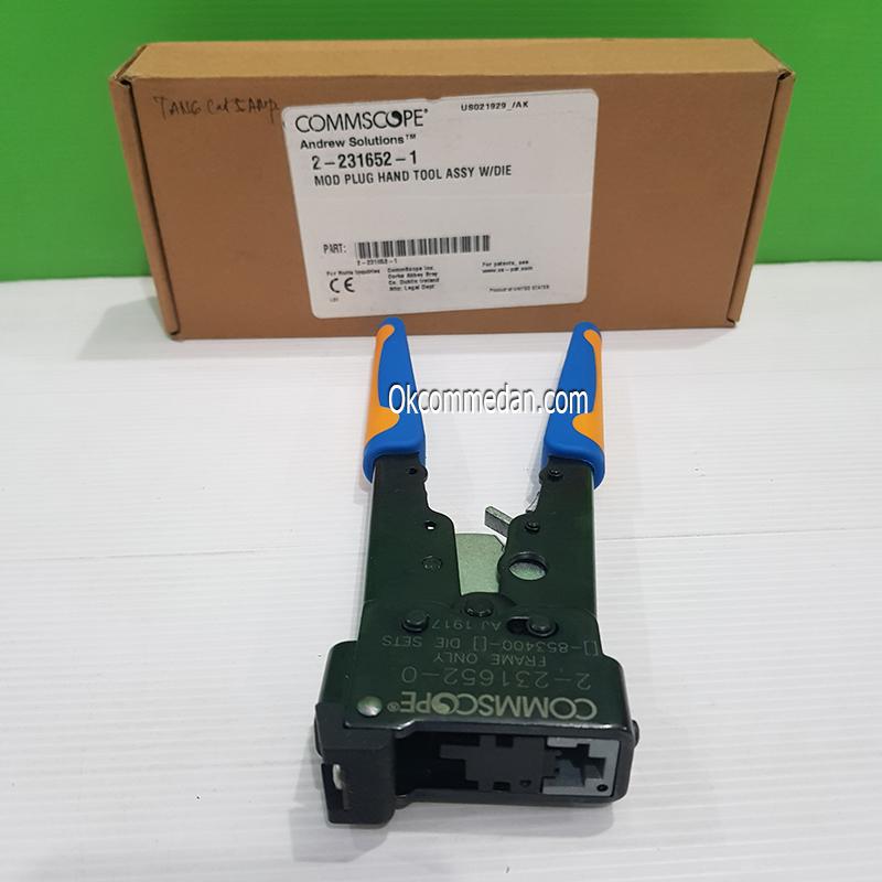Jual Crimping Tool Commscope Rj45 ( 2-231652-1 )