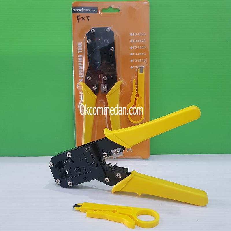 Jual Crimping Tool Tenda TD-864B Rj45 dan Rj11