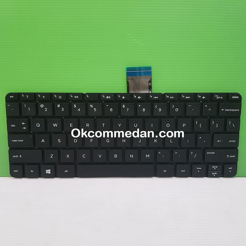 Keyboard Baru Notebook HP Pavilion 11 F105tu