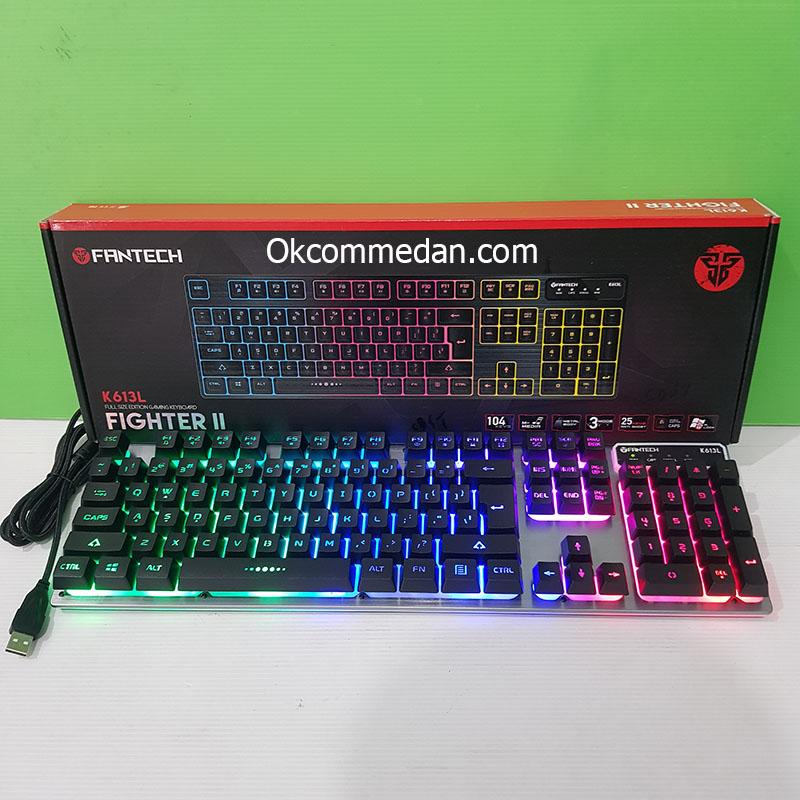 Fantech Keyboard Gaming K613L Fighter II