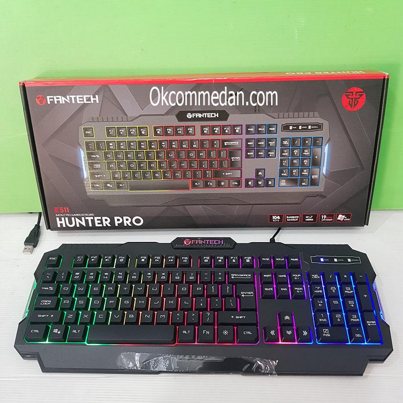 Keyboard Gaming Fantech K511 Hunter Pro