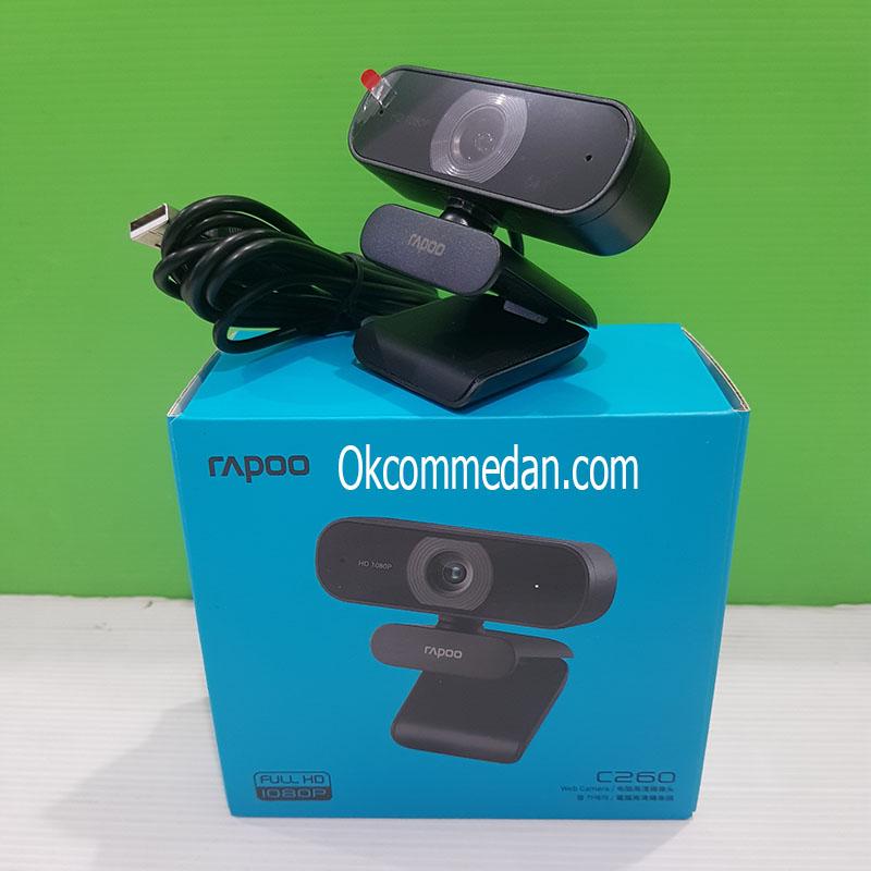 Jual Rapoo C260 Webcam Resolusi 1080p