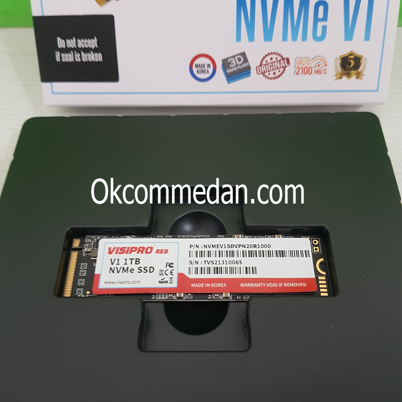 Jual SSD Visipro RED NVME V1 1 TB