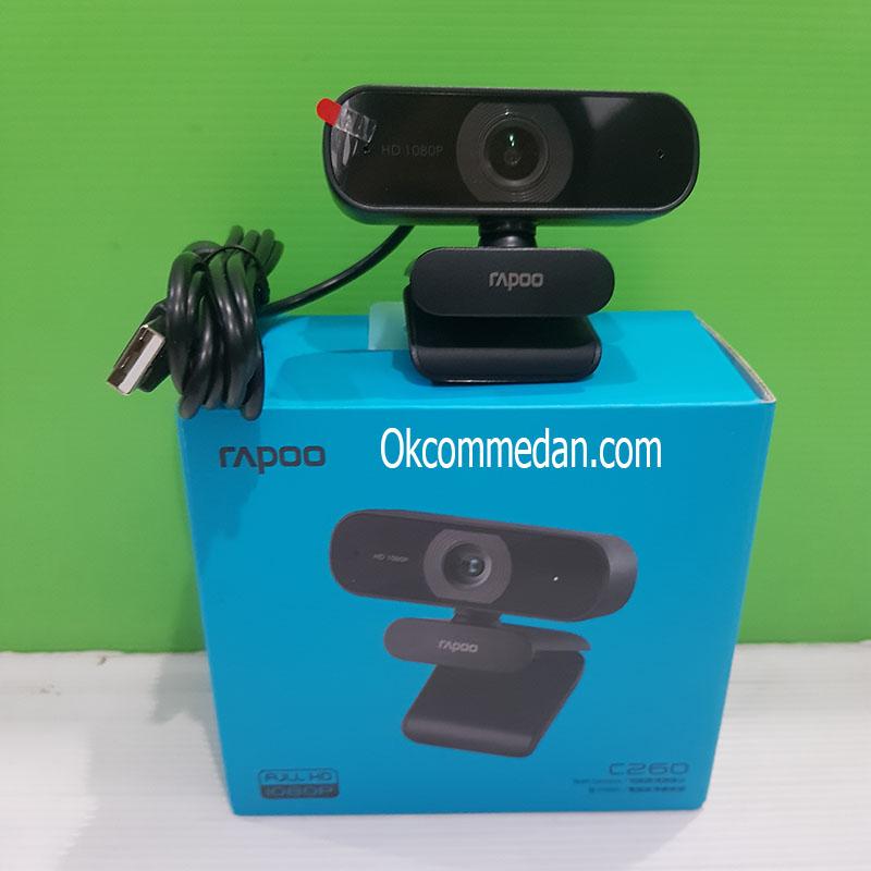 Rapoo C260 Webcam Resolusi 1080p