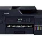 Brother MFC T4500dw Printer A3 ink tank multifungsi
