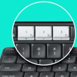 Keyboard Logitech K375s Wireless dengan stand