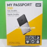 WD My Passport SSD External 512 Gb bergaransi