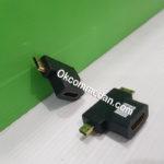 Gender Micro HDMI dan Mini HDMI Jantan ke HDMI Betina