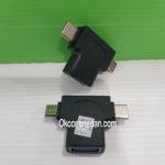 OTG USB Tipe-C dan Micro USB ( 2 in 1 )