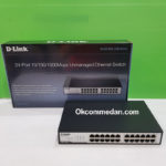 Dlink DGS 1024c Switch Hub Unmanaged 24 Port Gigabit