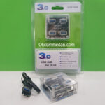USB Hub 3.0 Model Transparan 4 Port