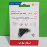 Flash Drive Sandisk Ultra Dual Drive Go USB-C 128 Gb
